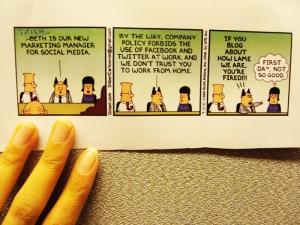 Dilbert Social Media
