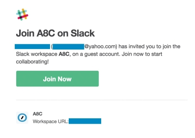 Slack Invitation